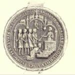 L'avers du sceau d'Arbroth Abbey. © Libre de droits